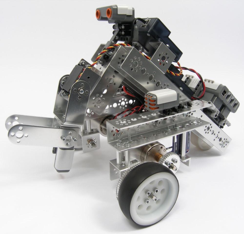 Tetrix + Mindstrorms вместе
