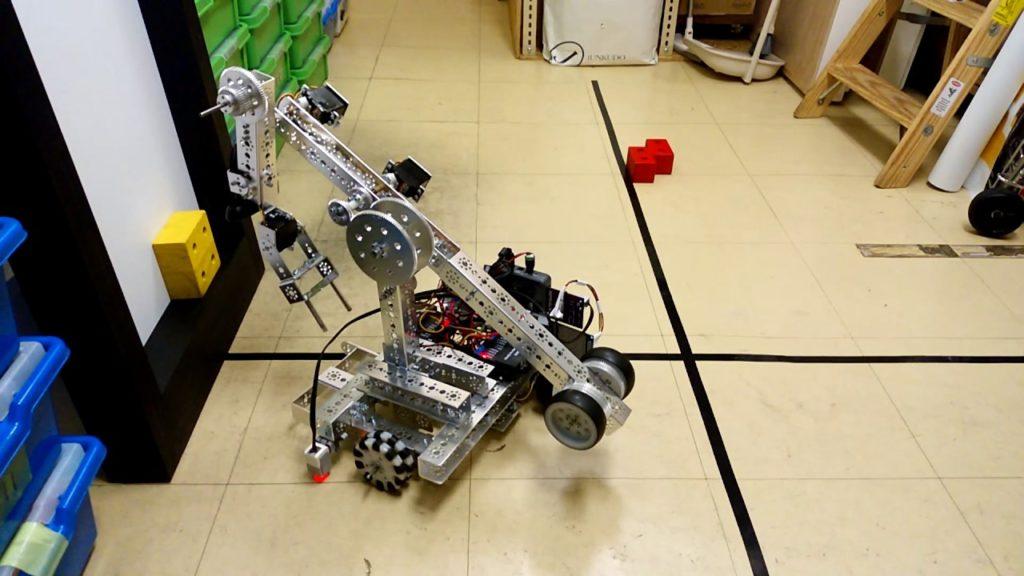 Робот Tetrix на всемирной олимпиаде роботов