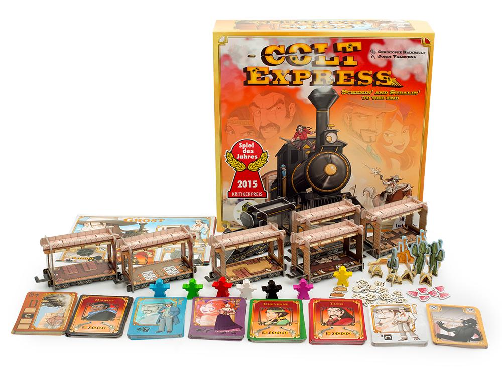 Настольная игра Кольт-Экспресс