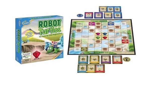 Настольная игра ThinkFun (Robot Turtles)