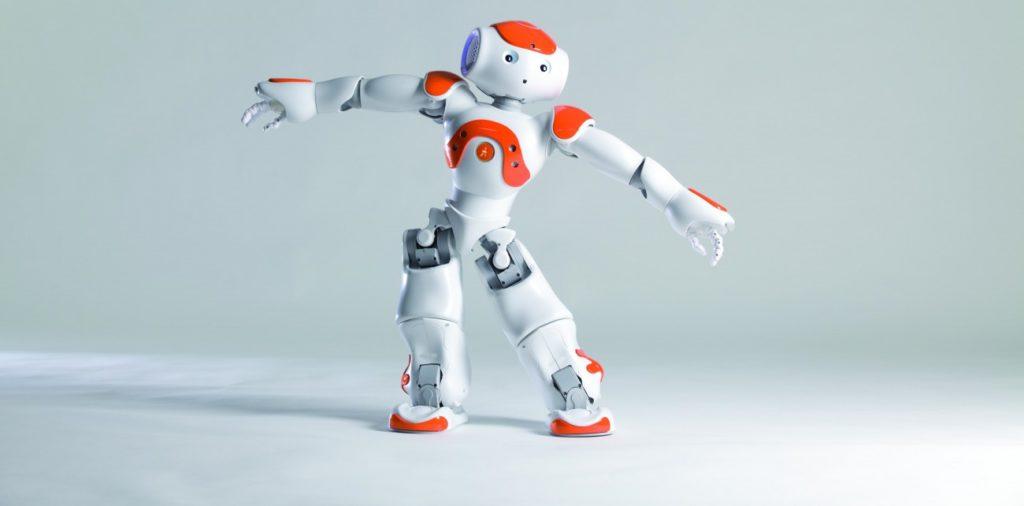 Современный робот робота NAO